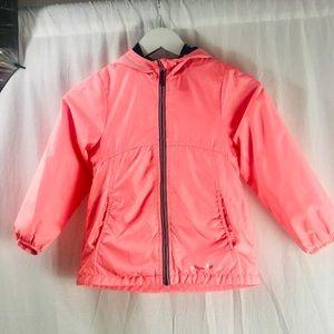 🌈5/$20 OshKosh pink hooded coat